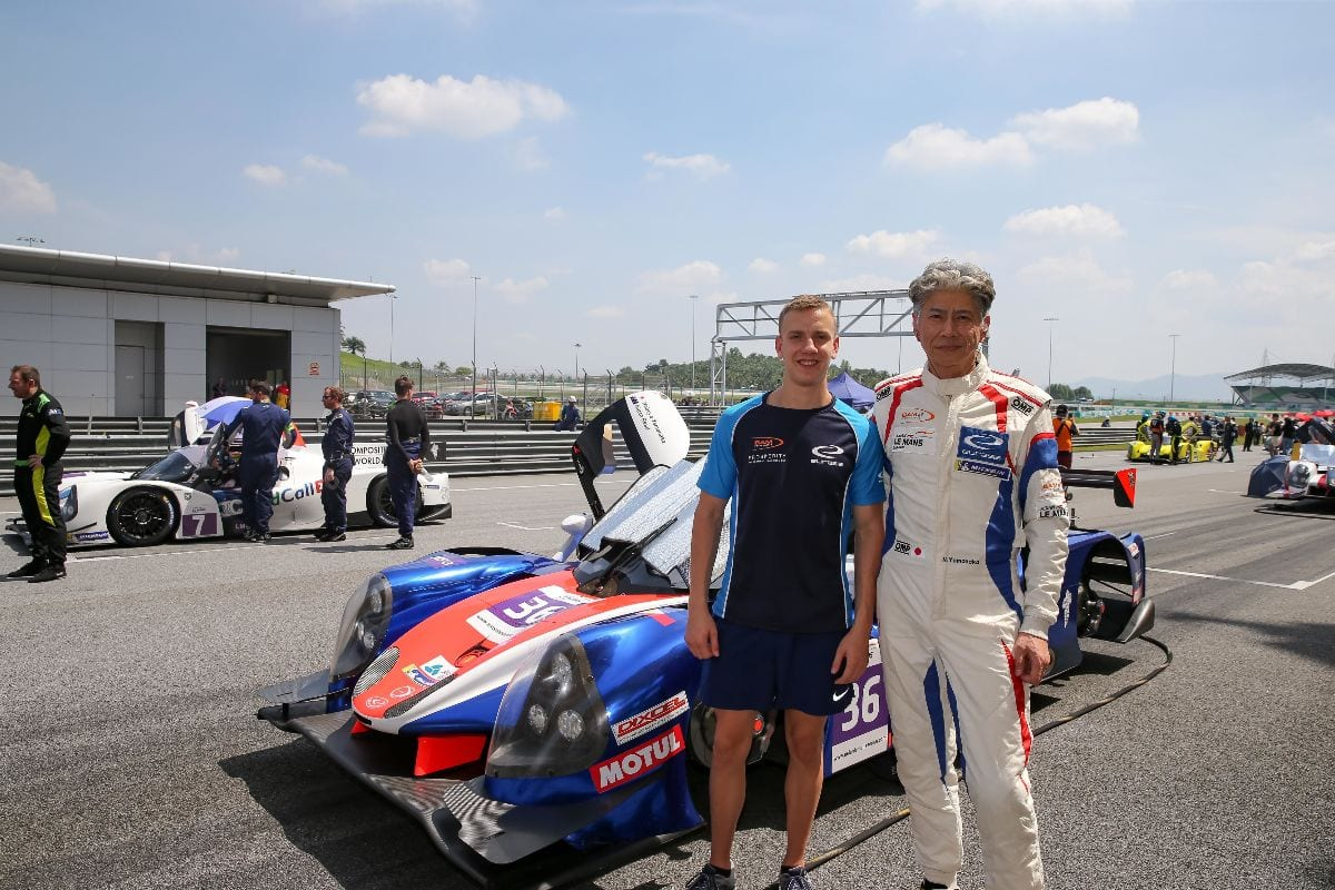 Aidan Read shows leading pace in ALMS