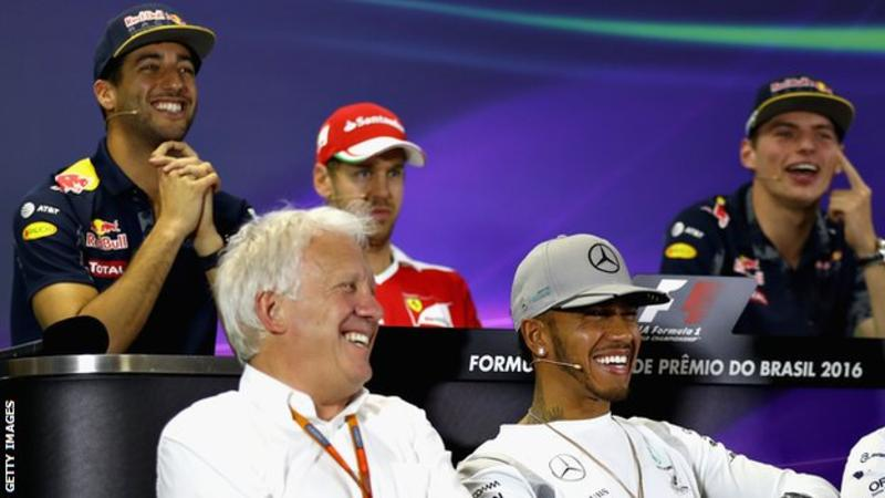 RIP CHARLIE WHITING, Mr Formula One!