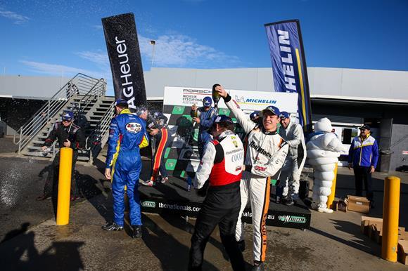 UPDATE: Aaron Love wins another Porsche thriller at Phillip Island