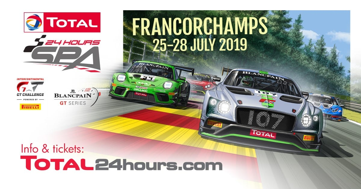 Record field for Spa-Francorchamps 24H